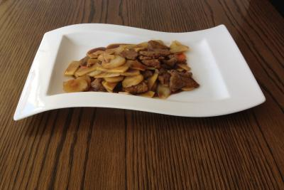 Beef with Bamboo Shoots & Water Chestnuts