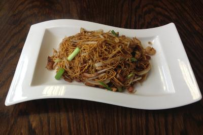 Mixed Meat Noodle (thin noodles) Special
